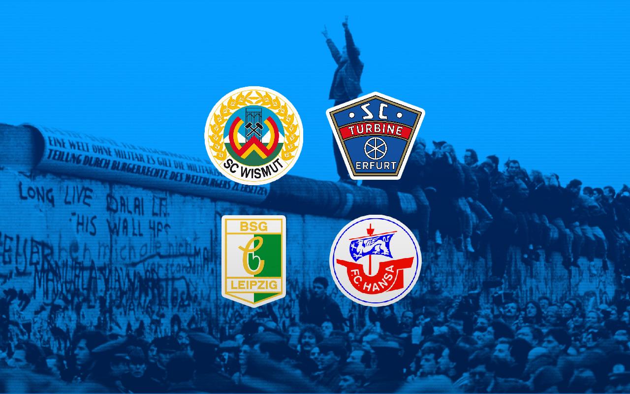 Muro Berlín, Equipos Alemania Oriental, Oberliga, Desaparición Los Pleyers