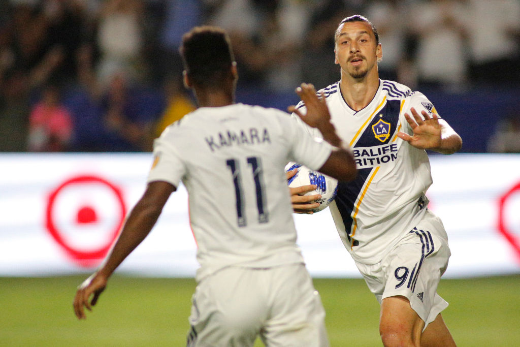 Zlatan Ibrahimovic Galaxy Los Pleyers