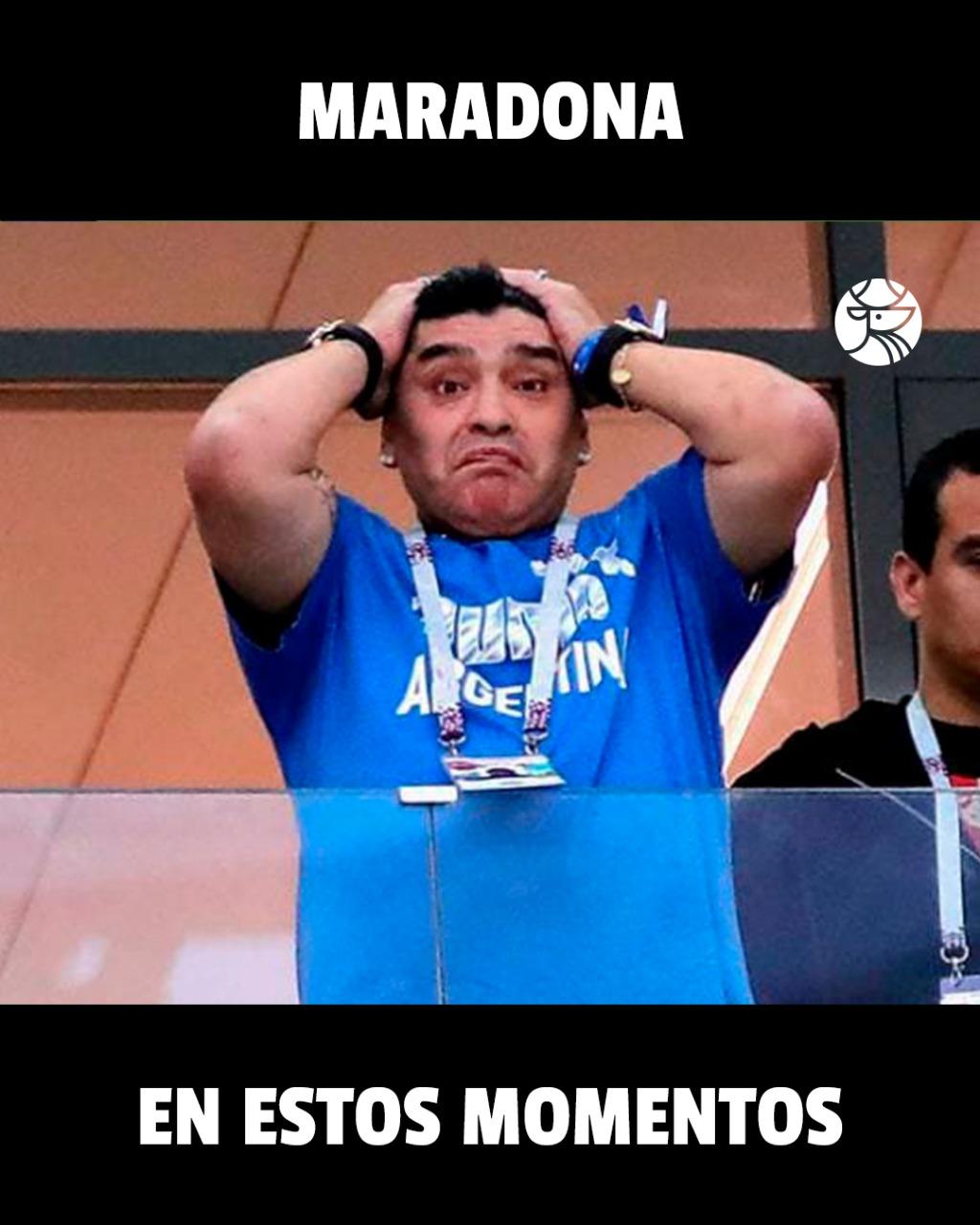 Maradona Meme Los Pleyers