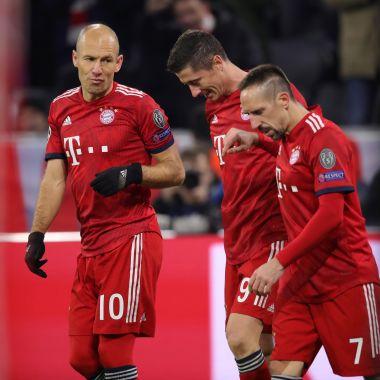 Arjen Robben, Franck Ribery, Bayern Munich, Retiro Los Pleyers