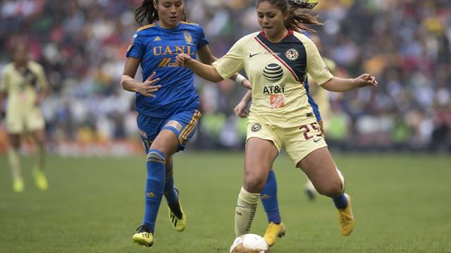 Liga MX Femenil, América, Tigres, Final