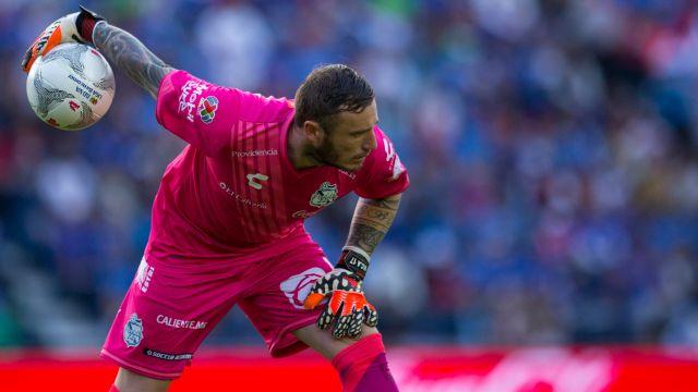 Cristian Campestrini Portero Everton Puebla Los Pleyers