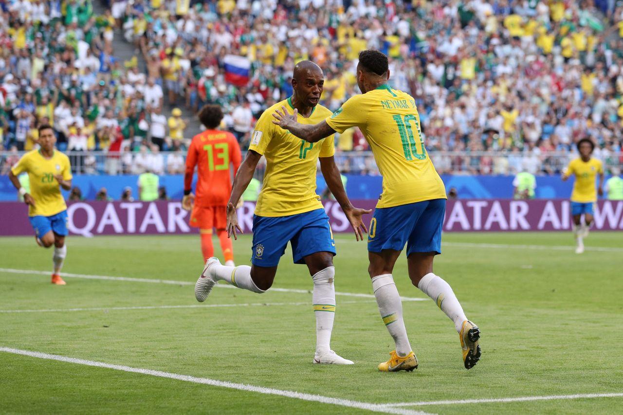 Fernandinho, Selección Brasil, Manchester City, Tite Los Pleyers