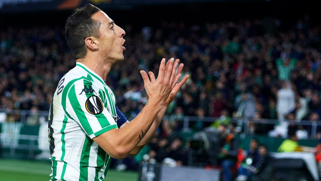 Andrés Guardado Lesión Real Betis Baja