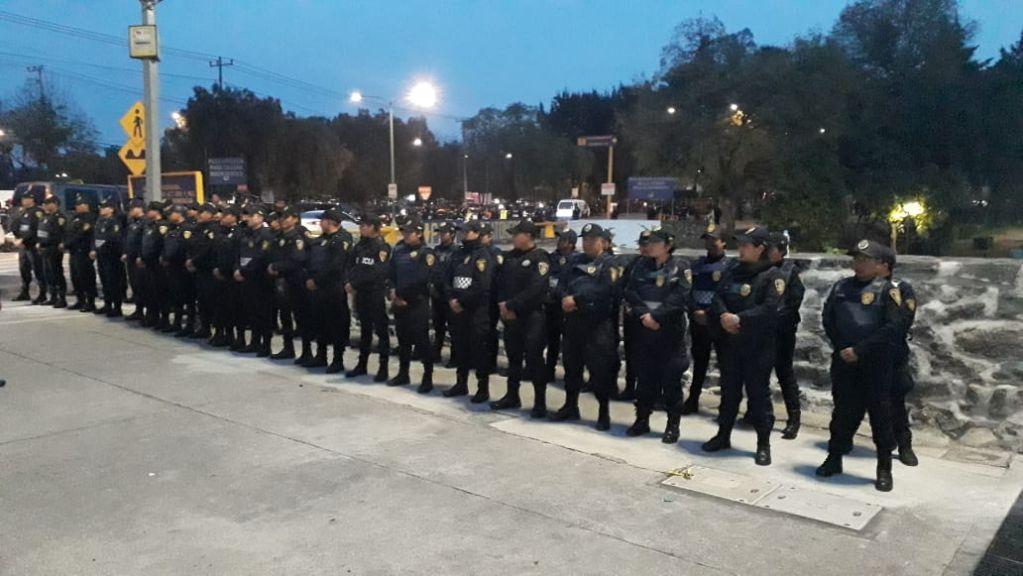 Granaderos Pumas América Seguridad Ciudad Universitaria