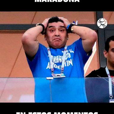 Atlético San Luis remonta a Dorados y a Maradona hasta en los memes