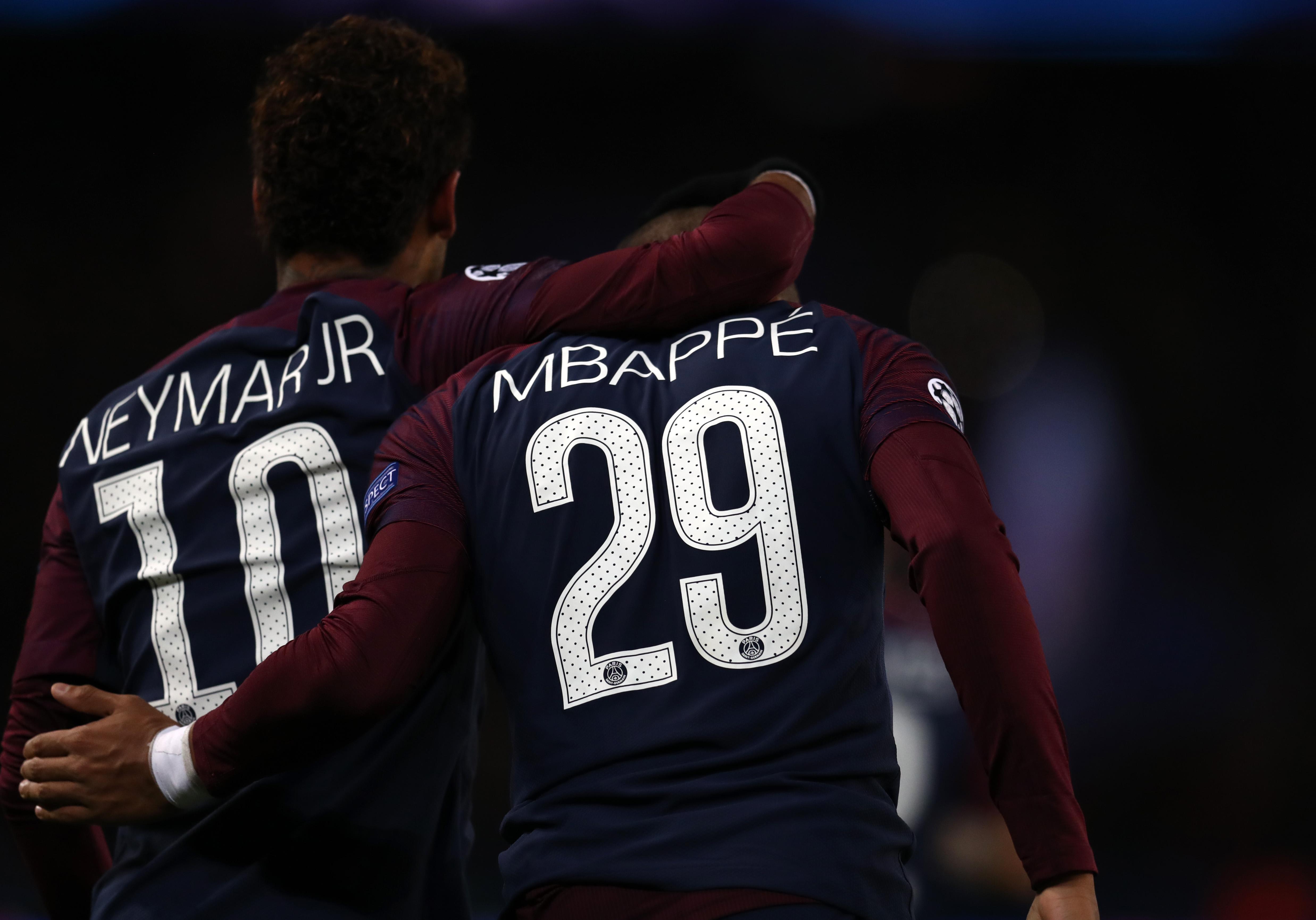 PSG, Kylian Mbappé, Neymar, Vender Los Pleyers