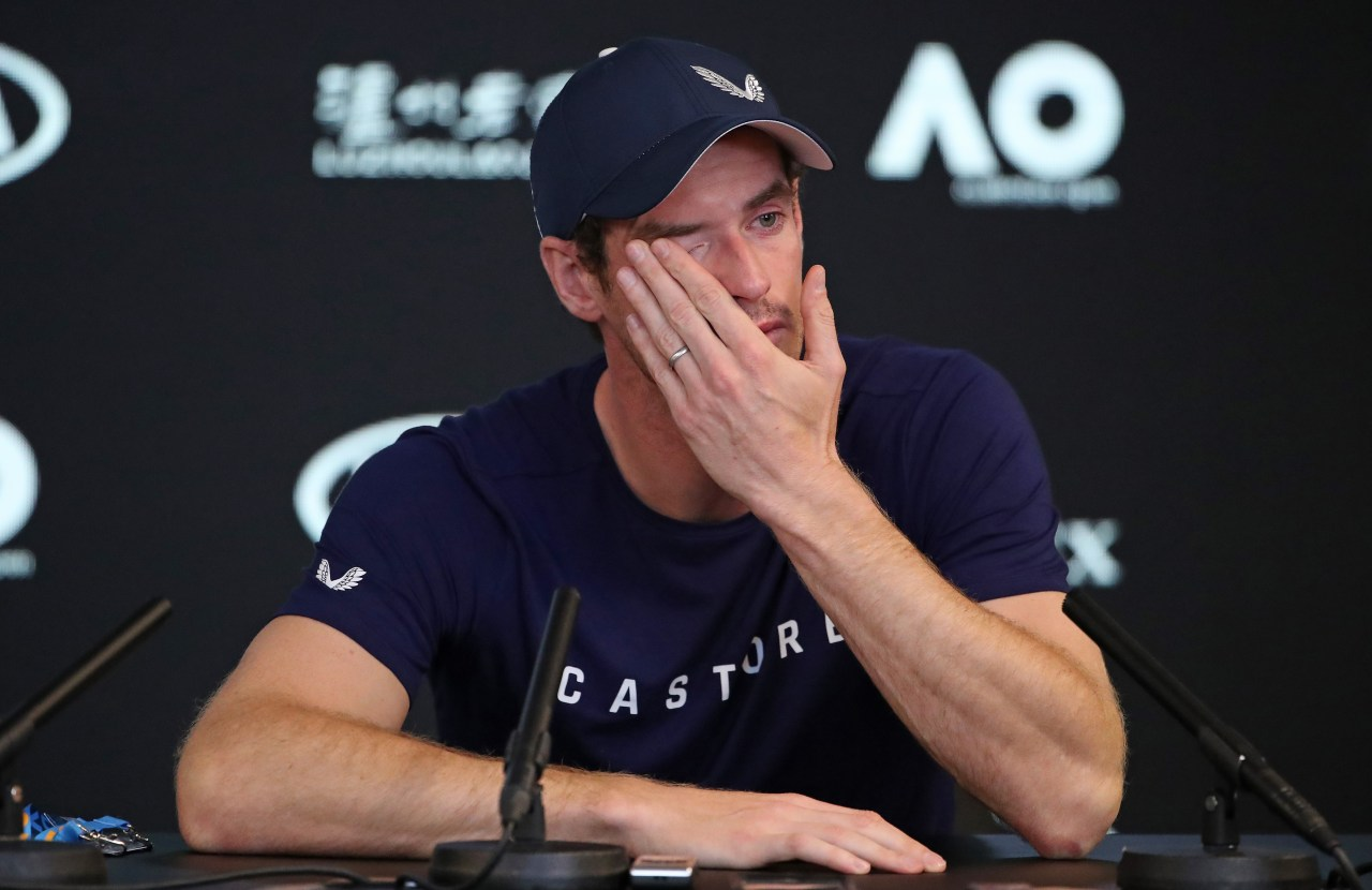 Andy Murray, Australian Open, Wimbledon, Retiro Los Pleyers