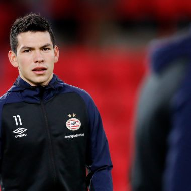 Chucky Lozano se ausenta de los entrenamientos del PSV 😱