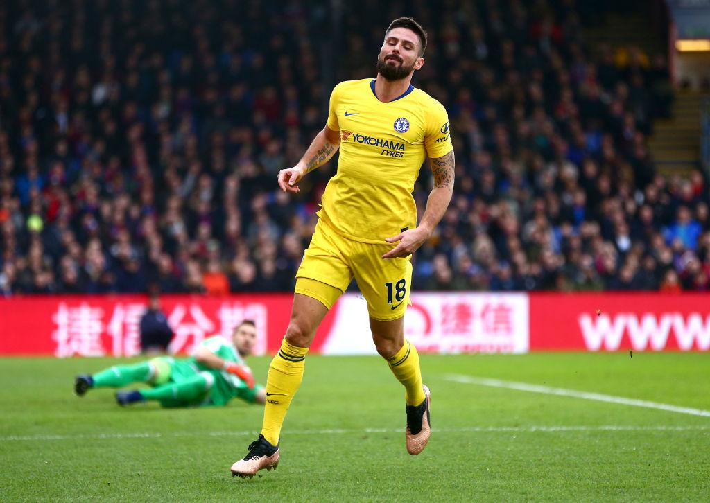 Olivier Giroud Chelsea América Los Pleyers