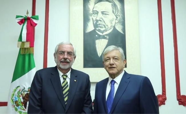 AMLO Enrique Graue Los Pleyers