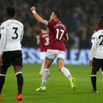 Chicharito Gol West Ham Fulham Los Pleyers