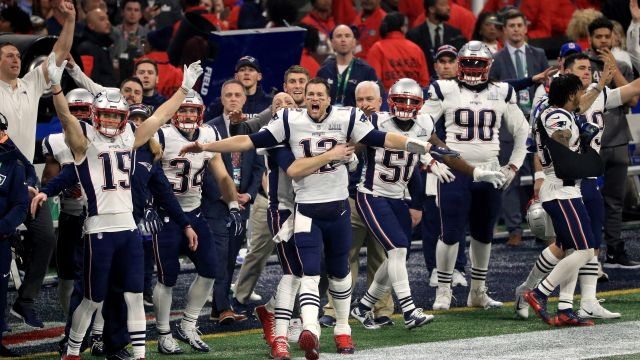 New England Patriots Ganador Super Bowl LIII Rams
