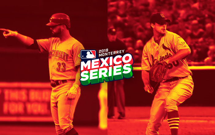 Mexico Series Cardinals Cincinnati Monterrey MLB