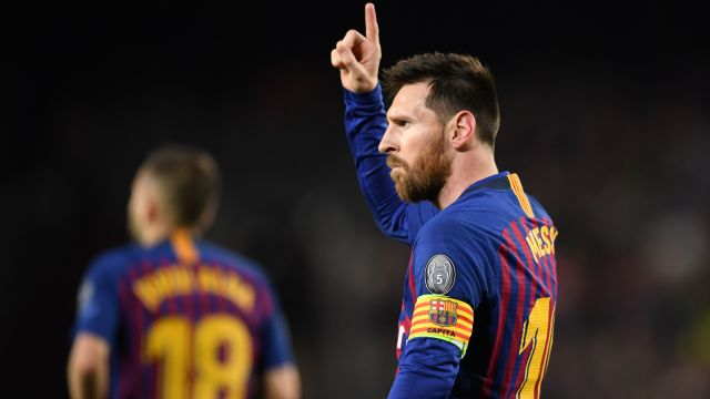 Barcelona Liverpool Champions League Lionel Messi
