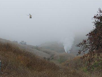 26/01/2020. Accidente Kobe Bryant Los Pleyers, Imáganes helicóptero Kobe Bryant.
