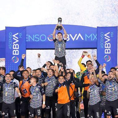 10/01/2020. Ascenso MX Clausura 2020 Torneos largos Equipos Los Pleyers, Alebrijes celebra su título en el AP 2019.