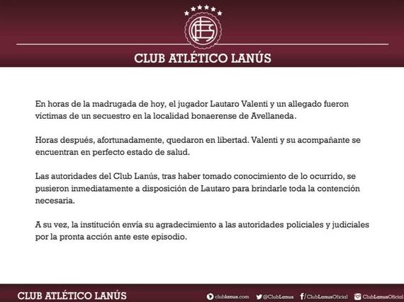 25/01/2020, Reportan secuestro de Brian Fernández y Lautaro Valenti en Argentina