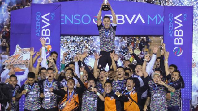 06/12/2019, Alebrijes Oaxaca, Ascenso MX, Campeón, Liga MX