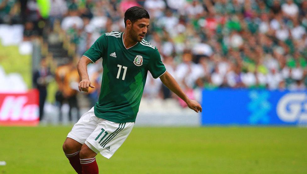 02/06/2018. Carlos Vela podría regresar a la Selección Mexicana, como refuerzo del Tri que asista a los Juegos Olímpicos de Tokio 2020