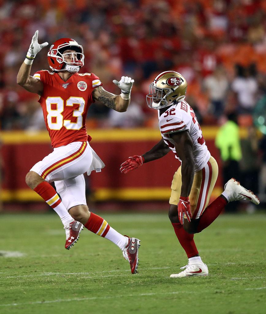 24/08/2019. Chiefs 49ers Super Bowl 2020 Los Pleyers, Partido de pretemporada entre San Francisco y Kansas.
