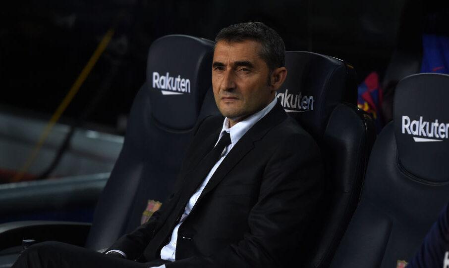 18/12/2019. Ernesto Valverde ha sido despedido del Barcelona. El club ha anunciado la salida del entrenador
