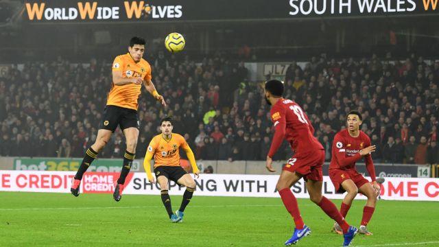 23/01/2020, Raúl Jiménez, Gol, Wolves, Liverpool