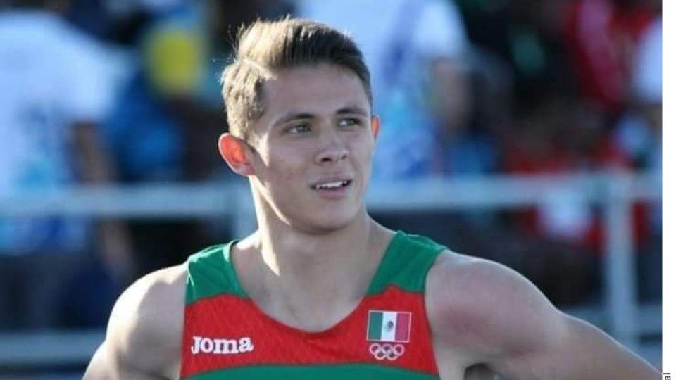 10/01/2020. Martín Alejandro Loera Atleta Mexicano Asesinato Los Pleyers, El joven en una competencia.