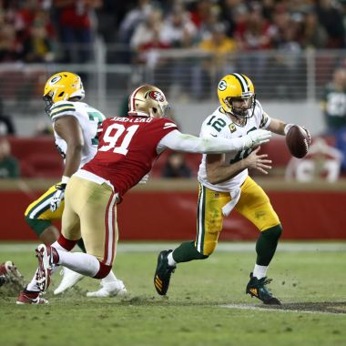24/11/2019. La Final de la Conferencia Nacional será espectacular. Esta es la hora del juego entre Packers vs San Francisco
