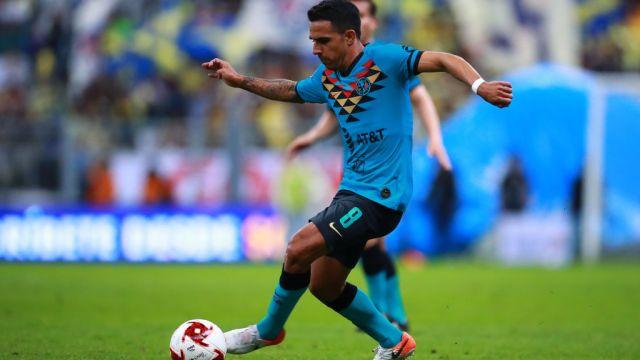 18/01/2020. América Alonso Escoboza Lesión Esguince Los Pleyers, Jesús Alonso Escoboza en su partido debut con Las Águilas.
