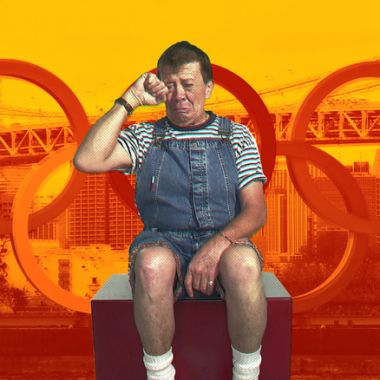 17/02/2020. Xavier López, Chabelo, pudo representar a México en unos Juegos Olímpicos, los de Helsinki 1952 en lucha grecorromano