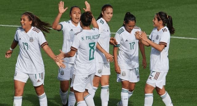 04/02/2020, Selección Mexicana muestra confianza para sacar triunfo ante Canada en Preolímpico Femenil