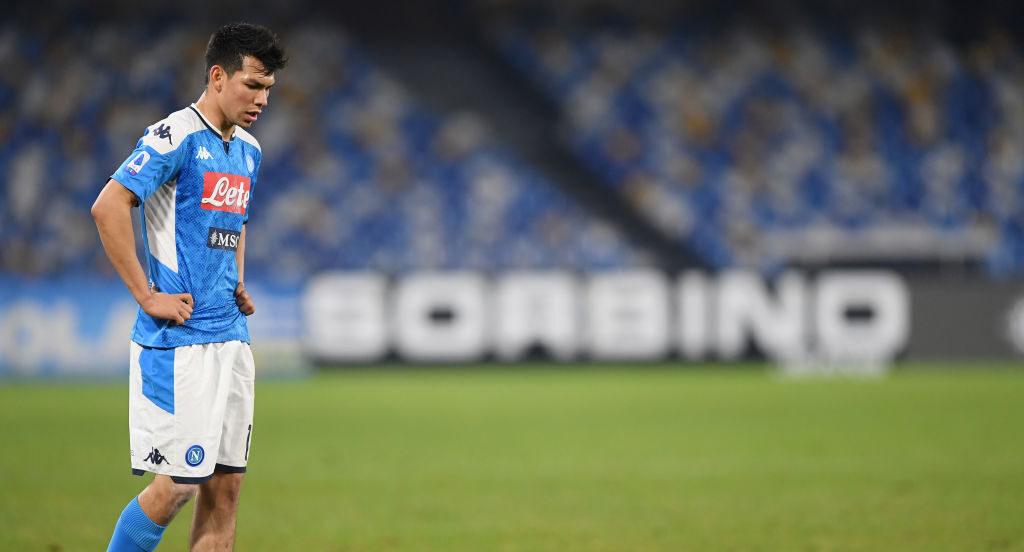 18/01/2020, Gattuso habla de situación de Hirving Lozano en Napoli