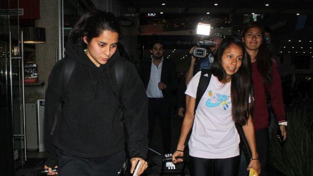 08/02/2020, Así fue la llegada de la Selección Mexicana Femenil tras perder boleto a Tokio
