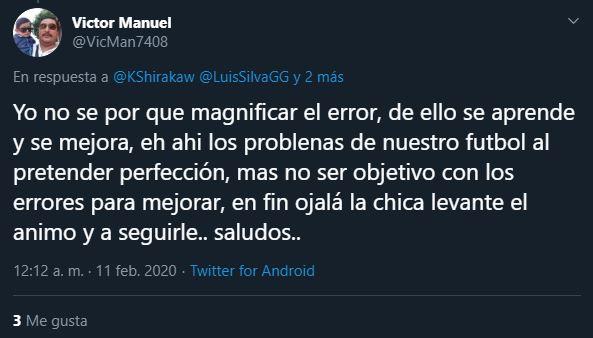 11/02/2020, Satanizan error de Alondra Ubaldo con Toluca en la Liga MX Femenil