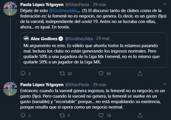 30/03/2020, Habrá reducción de sueldos en la Liga MX Femenil por el coronavirus