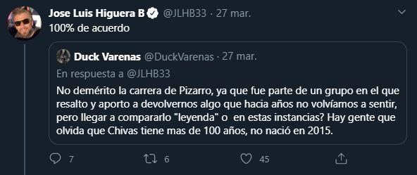 28/03/2020, Rodolfo Pizarro y José Luis Higuera protagonizan pelea por culpa de Chivas