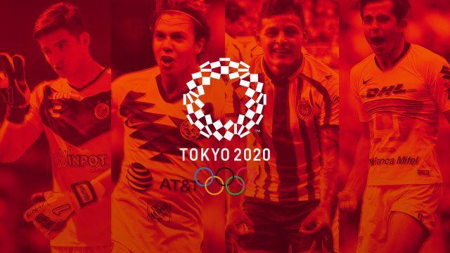 25/03/2020. Selección Mexicana Juegos Olímpicos Sub 23 Convocatoria Los Pleyers, Sebastián Córdova y Alan Mozo disputan un balón.