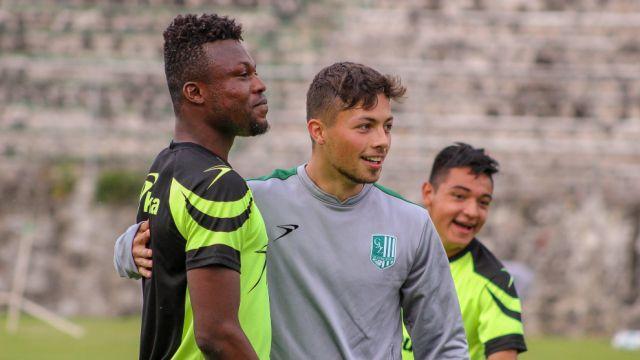 28/04/2020. Adrián Goransch América Apertura 2020 Refuerzo Los Pleyers, Adrián Goransch en una práctica en el Zacatepec.