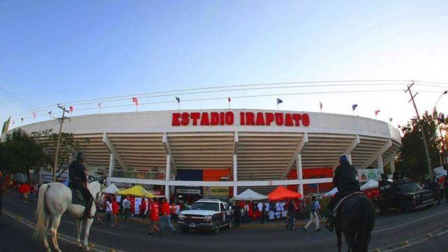 23/03/2020, Se trabaja en remodelación millonaria de estadio de Irapuato que serviría para el Ascenso