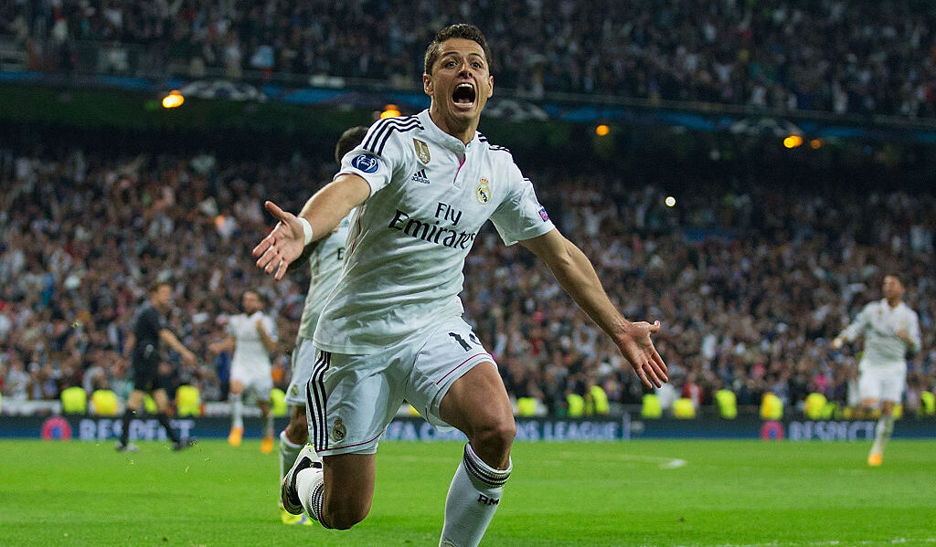 22/04/2015, Revive el gol del Chicharito con el Real Madrid en la Champions League