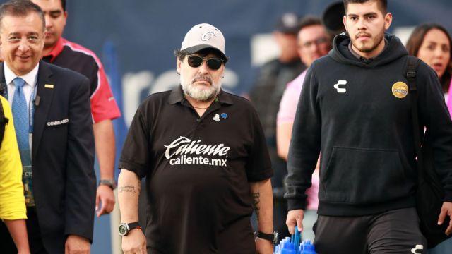 05/05/2019. Cristian Campestrini habló de lo que vivió junto a Diego Maradona con Argentina y en Dorados en el Ascenso MX