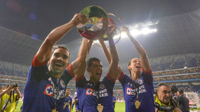 31/10/2018, Cruz Azul, Copa MX, Monterrey, Final