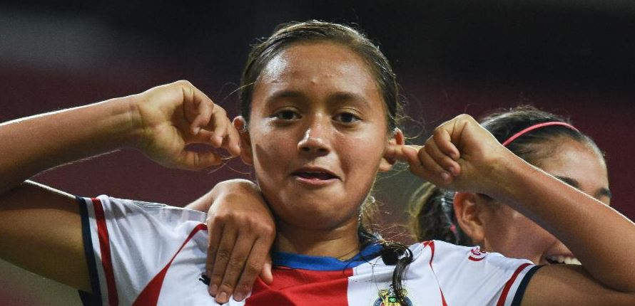 15/04/2020, Así fue el debut de Kinberly Guzmán con Chivas en la Liga MX Femenil