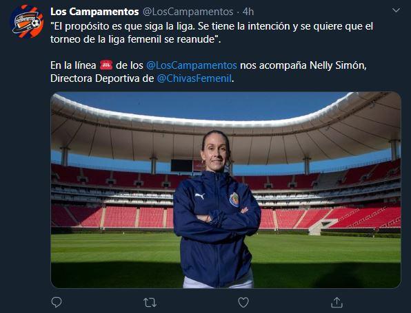 06/04/2020, Procederían a la cancelación del Clausura 2020 de la Liga MX Femenil por el coronavirus