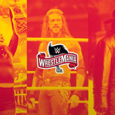 03/04/2020 WrestleMania 36, En Vivo, Dónde Ver, WWE, Logotipo de WM36