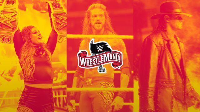 03/04/2020 WrestleMania 36, En Vivo, Dónde Ver, WWE, Logotipo de WM36