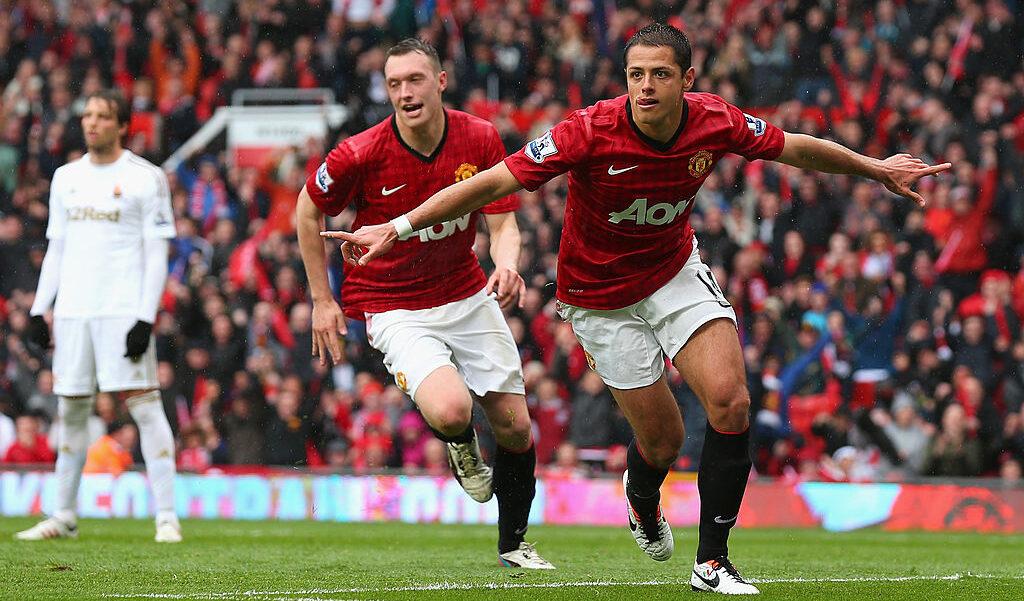 12/05/2013, Premier League celebra aniversario de la llegada de Chicharito al Manchester United