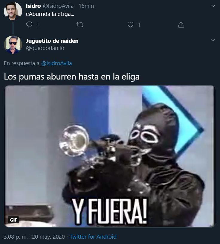 20/05/2020, Checa memes del Cruz Azul vs Pumas de la e Liga MX
