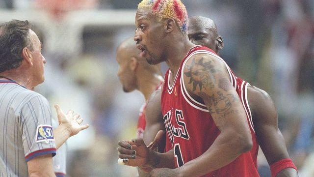 26/05/1997, NBA: Dennis Rodman critica duramente a LeBron James
